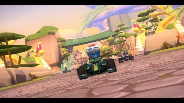 скриншот F1 Race Stars - China Track 1