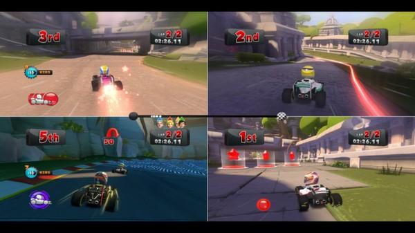 скриншот F1 Race Stars - China Track 4