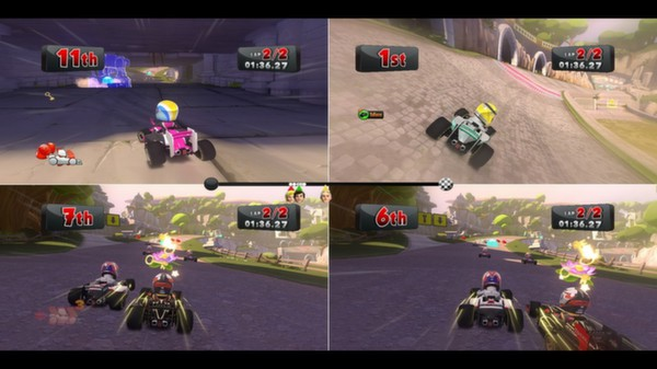 скриншот F1 Race Stars - China Track 3