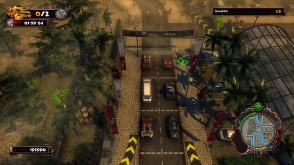 скриншот Zombie Driver HD 2