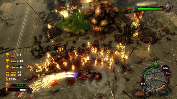 скриншот Zombie Driver HD 0