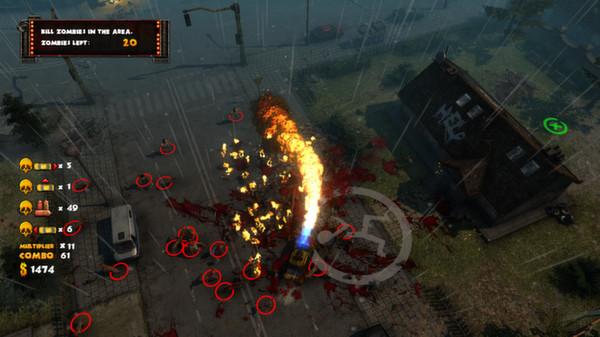 скриншот Zombie Driver HD 1
