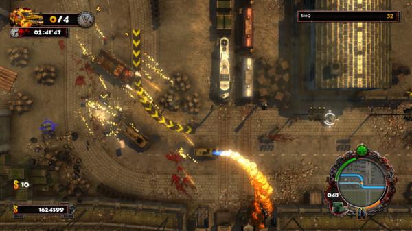 скриншот Zombie Driver HD 4