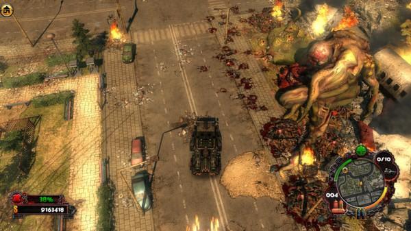 скриншот Zombie Driver HD Apocalypse Pack 4