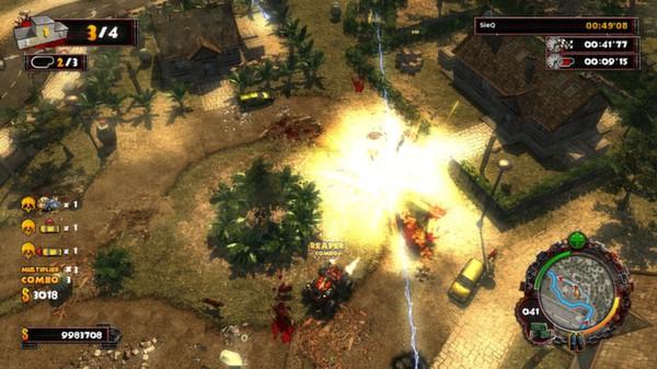 скриншот Zombie Driver HD Apocalypse Pack 1