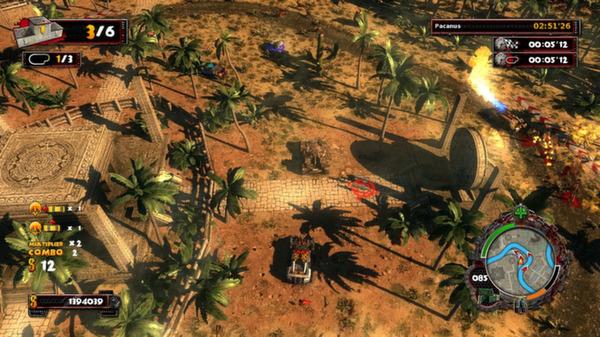 скриншот Zombie Driver HD Tropical Race Rage 1