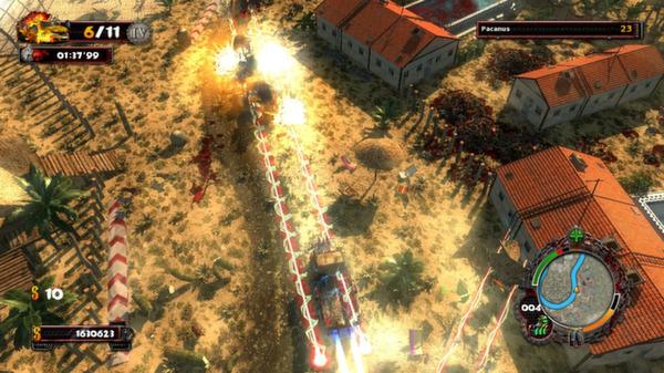 скриншот Zombie Driver HD Tropical Race Rage 4