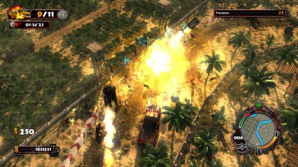 скриншот Zombie Driver HD Tropical Race Rage 2