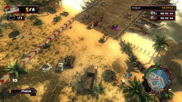 скриншот Zombie Driver HD Tropical Race Rage 5