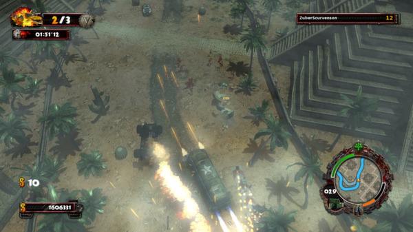 скриншот Zombie Driver HD Tropical Race Rage 3