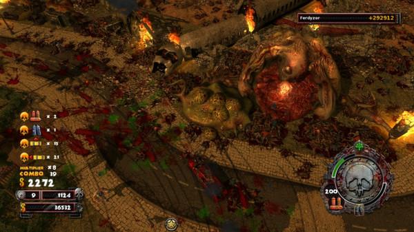 скриншот Zombie Driver HD Burning Garden of Slaughter 2