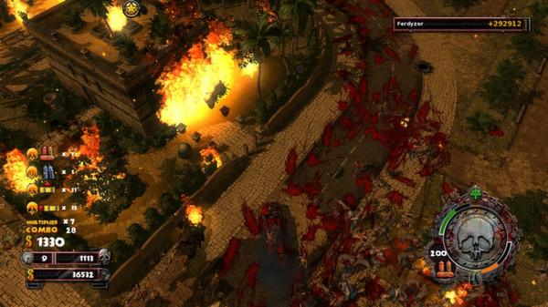 скриншот Zombie Driver HD Burning Garden of Slaughter 0