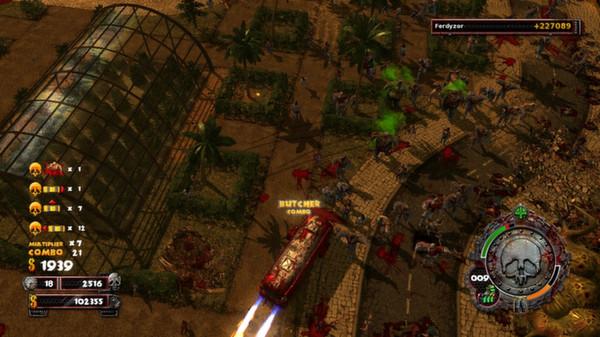 скриншот Zombie Driver HD Burning Garden of Slaughter 5