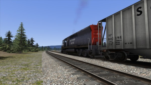 скриншот Southern Pacific SD45 Loco Add-On 1