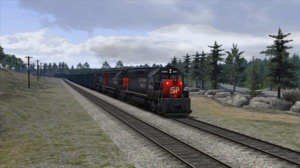 скриншот Southern Pacific SD45 Loco Add-On 2