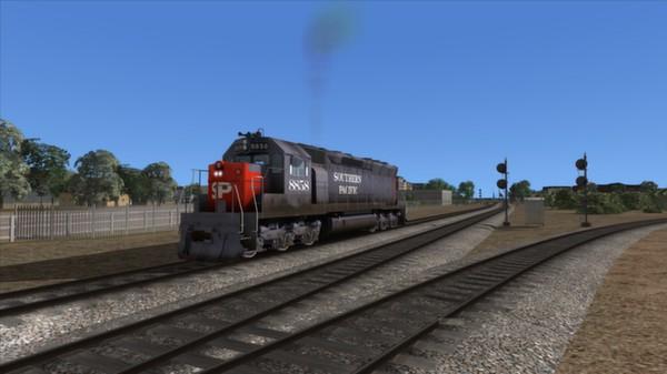 скриншот Southern Pacific SD45 Loco Add-On 3
