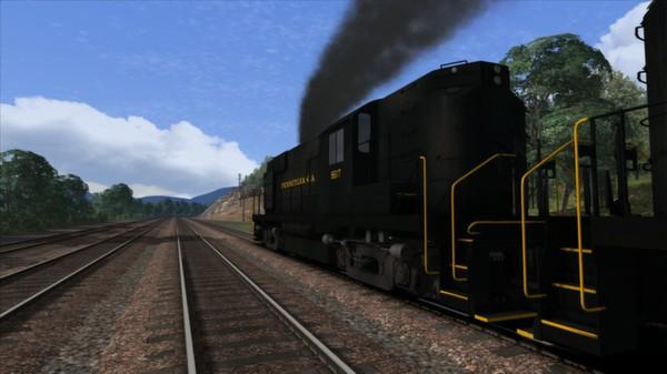 скриншот PRR Alco RS11 Loco Add-On 2