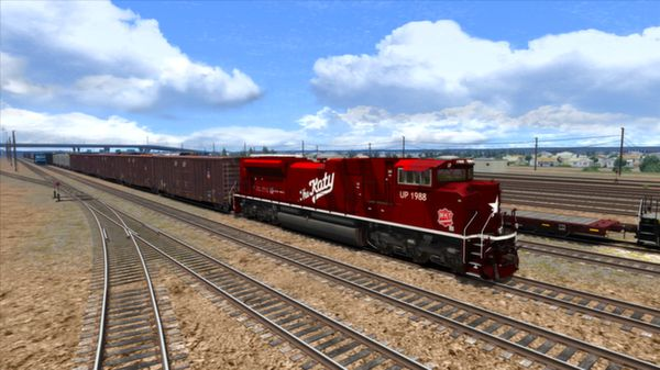 скриншот Union Pacific Heritage SD70ACes Loco Add-On 4
