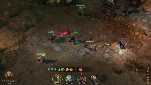 скриншот Aarklash: Legacy 5