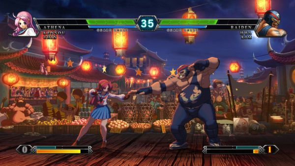 The King of Fighters XIII скриншот