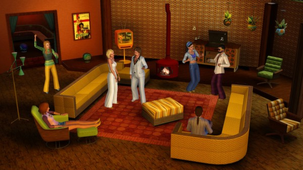 Скриншот №1 к The Sims 3 70s 80s and 90s