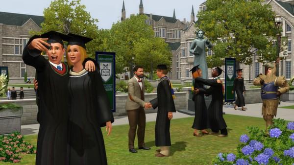 Скриншот №4 к The Sims 3 University Life