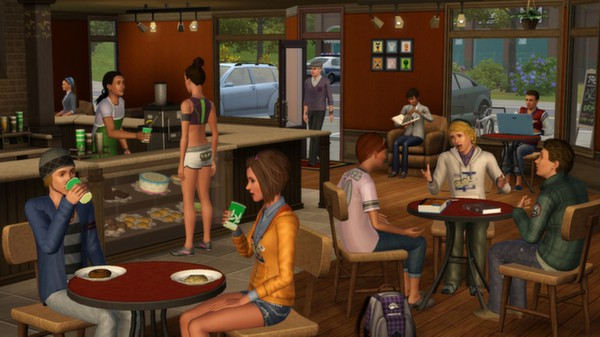 Скриншот №1 к The Sims 3 University Life