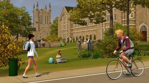 Скриншот №3 к The Sims 3 University Life