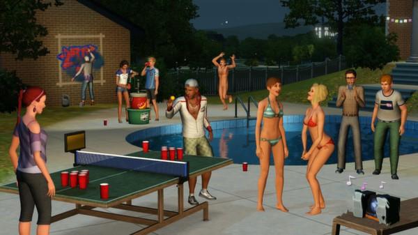 Скриншот №2 к The Sims 3 University Life