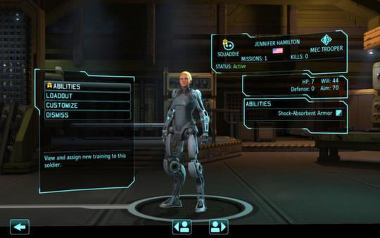 скриншот XCOM: Enemy Within 1