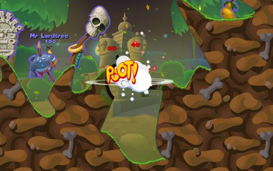 Worms Reloaded скриншот