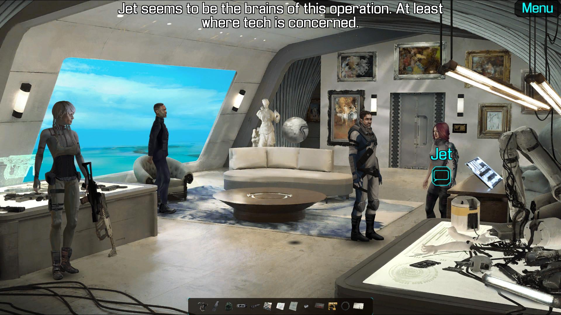 Warp Frontier screenshot 3