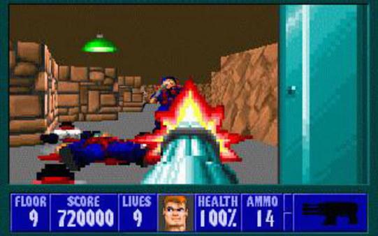 Скриншот №2 к Wolfenstein 3D