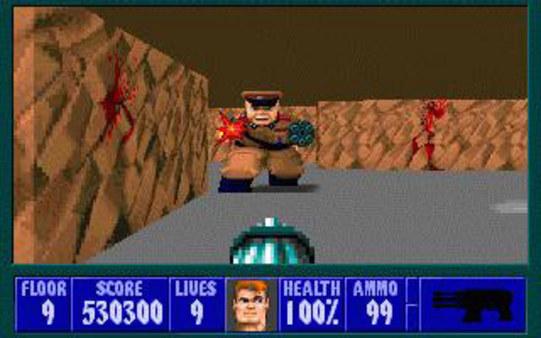 Скриншот №3 к Wolfenstein 3D