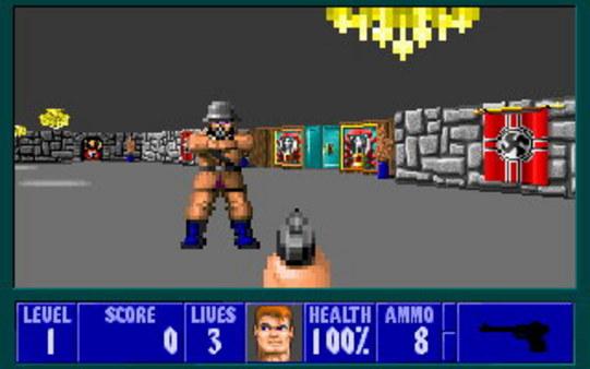 Скриншот №4 к Wolfenstein 3D