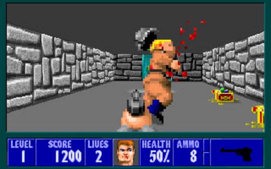 Скриншот №5 к Wolfenstein 3D