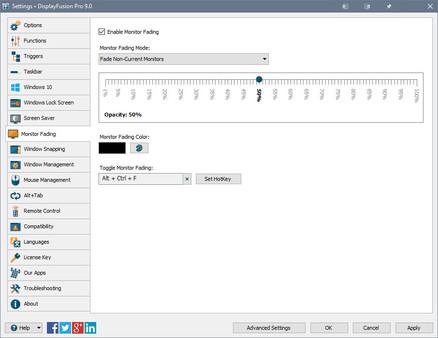 Скриншот №5 к DisplayFusion