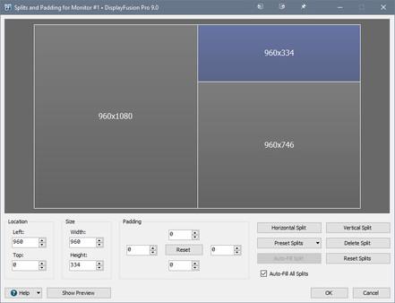 Скриншот №4 к DisplayFusion