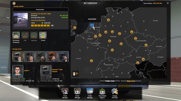 Скриншот №11 к Euro Truck Simulator 2