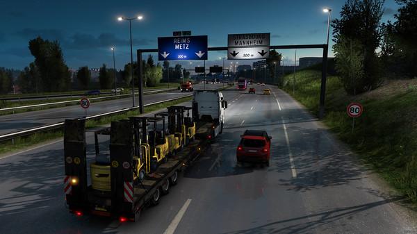 Скриншот №3 к Euro Truck Simulator 2