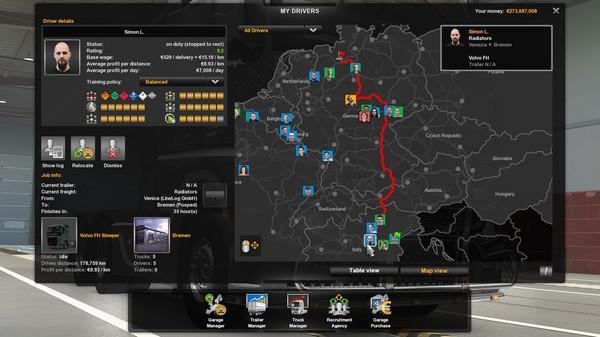 Скриншот №15 к Euro Truck Simulator 2