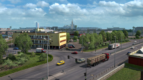 Скриншот №1 к Euro Truck Simulator 2
