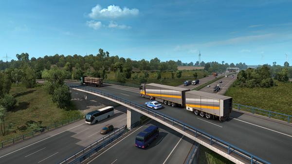 Euro Truck Simulator 2 скриншот