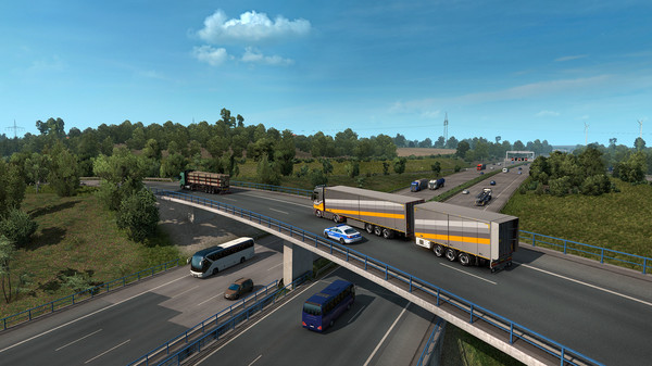 скриншот Euro Truck Simulator 2 4