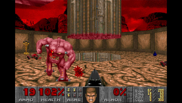 Скриншот №4 к Ultimate Doom