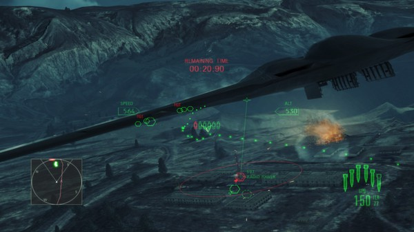 скриншот Ace Combat Assault Horizon - Enhanced Edition 5