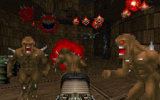 Скриншот №2 к Final DOOM