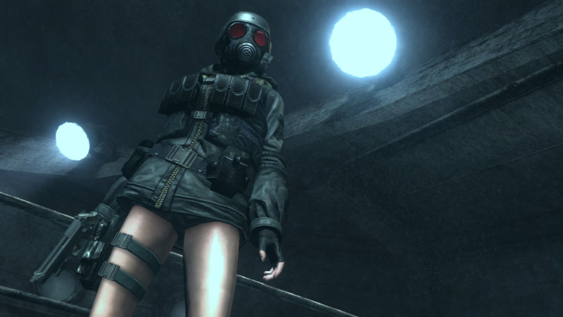 KHAiHOM.com - Resident Evil: Revelations Lady HUNK DLC