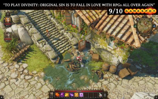 Скриншот №1 к Divinity Original Sin Classic