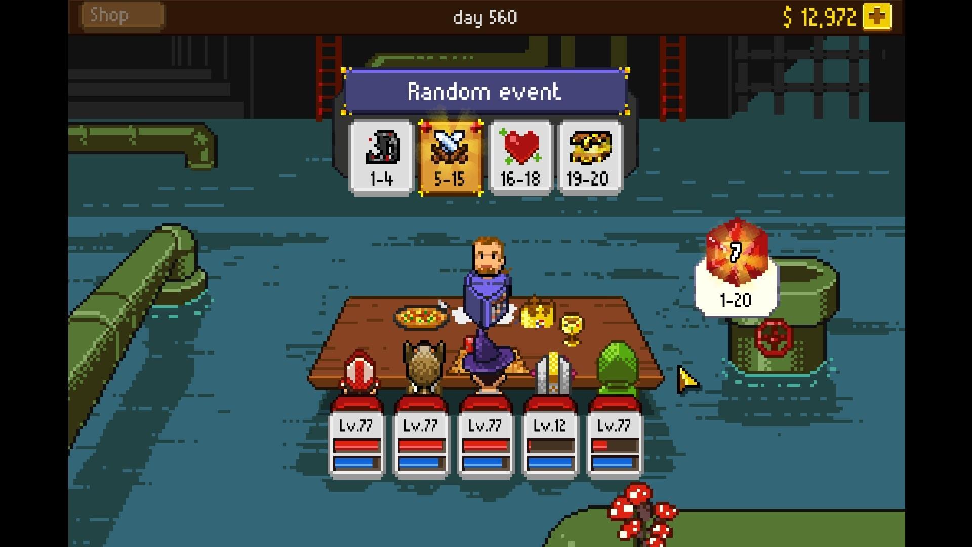 Cheio de referências e piadas, o game será altamente reconhecível para os veteranos dos rpgs de mesa